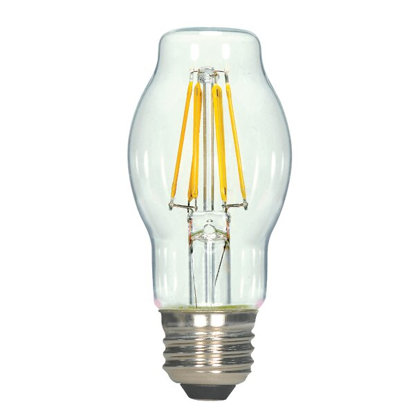 E26 Medium LED Vintage Filament Light Bulb by Satco