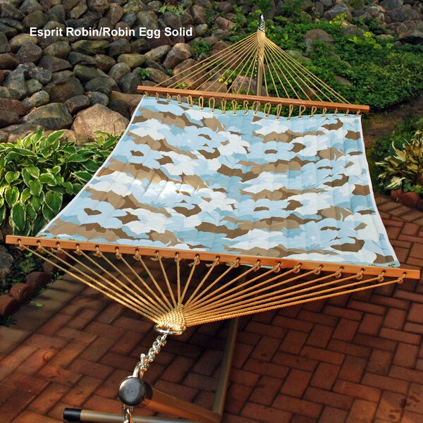 Reversible Quilted Polyester Tree Hammock by Algoma Net Company