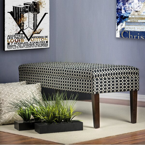 Terese Ikat Upholstered Bench by Red Barrel Studio