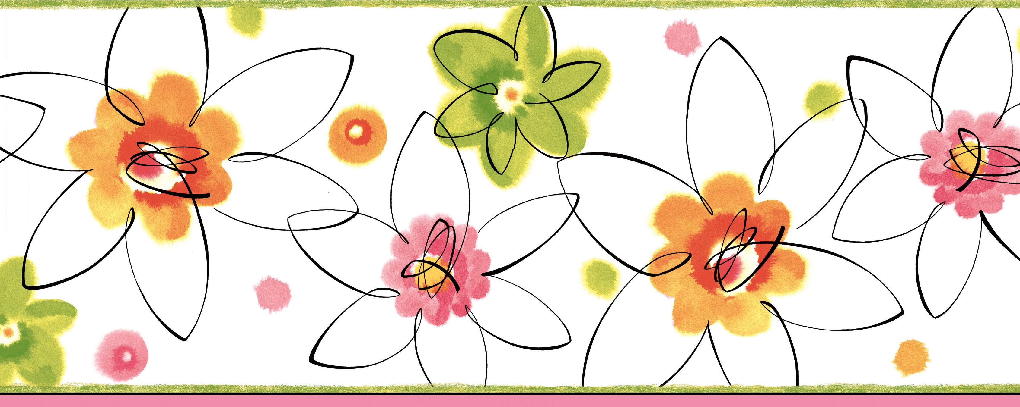 Zoomie Kids Melnick Butterbean Crazy Daisies Toss 15 X 9 Floral