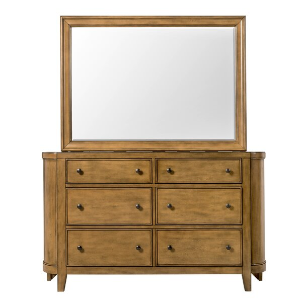 Gandy 6 Drawer Double Dresser by Darby Home Co