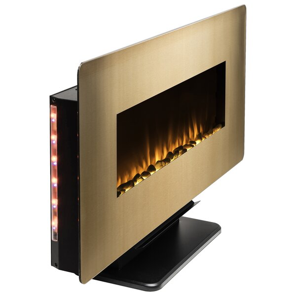 3-in-1 3D Flames Wall Mounted Electric Fireplace by AKDY