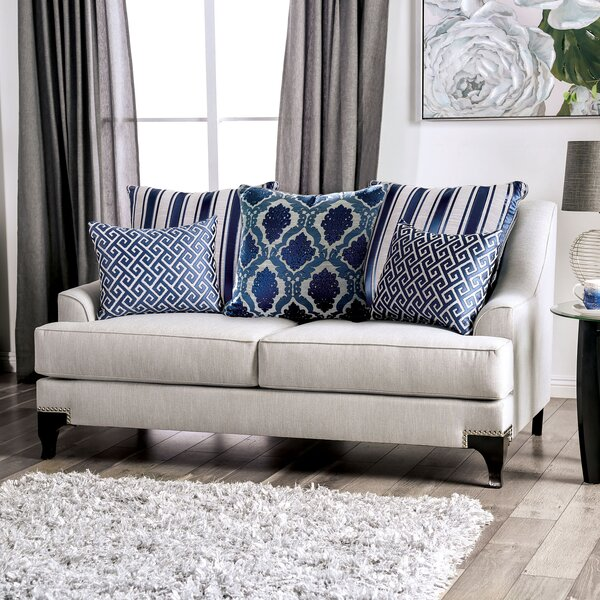 Canty T-Cushion Loveseat by Darby Home Co