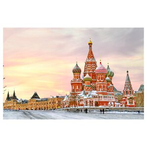 Saint Basil's Cathedral - Moscow Russia Photographic Print by Prestige Art Studios