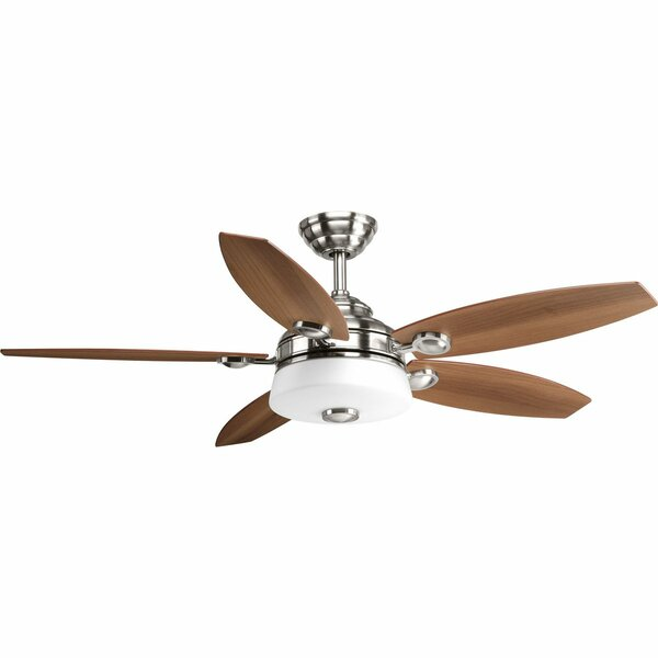 54 Keriann 5 Blade LED Ceiling Fan with Remote by Latitude Run