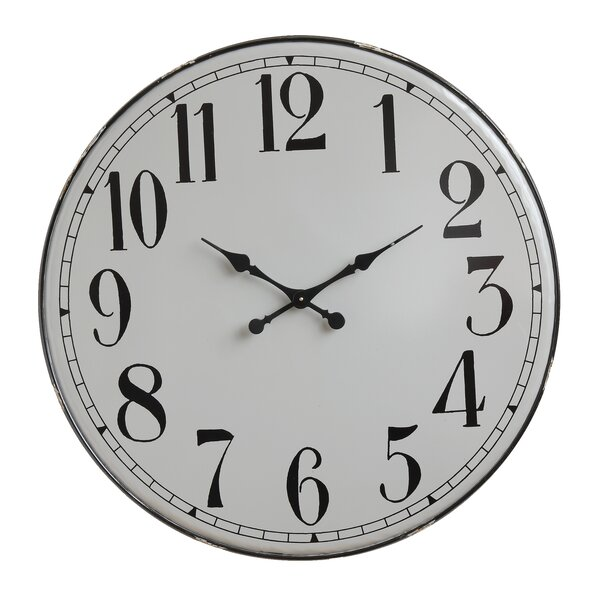 Geranium Oversized Truck Ship Iron 36.38 Wall Clock by Longshore Tides
