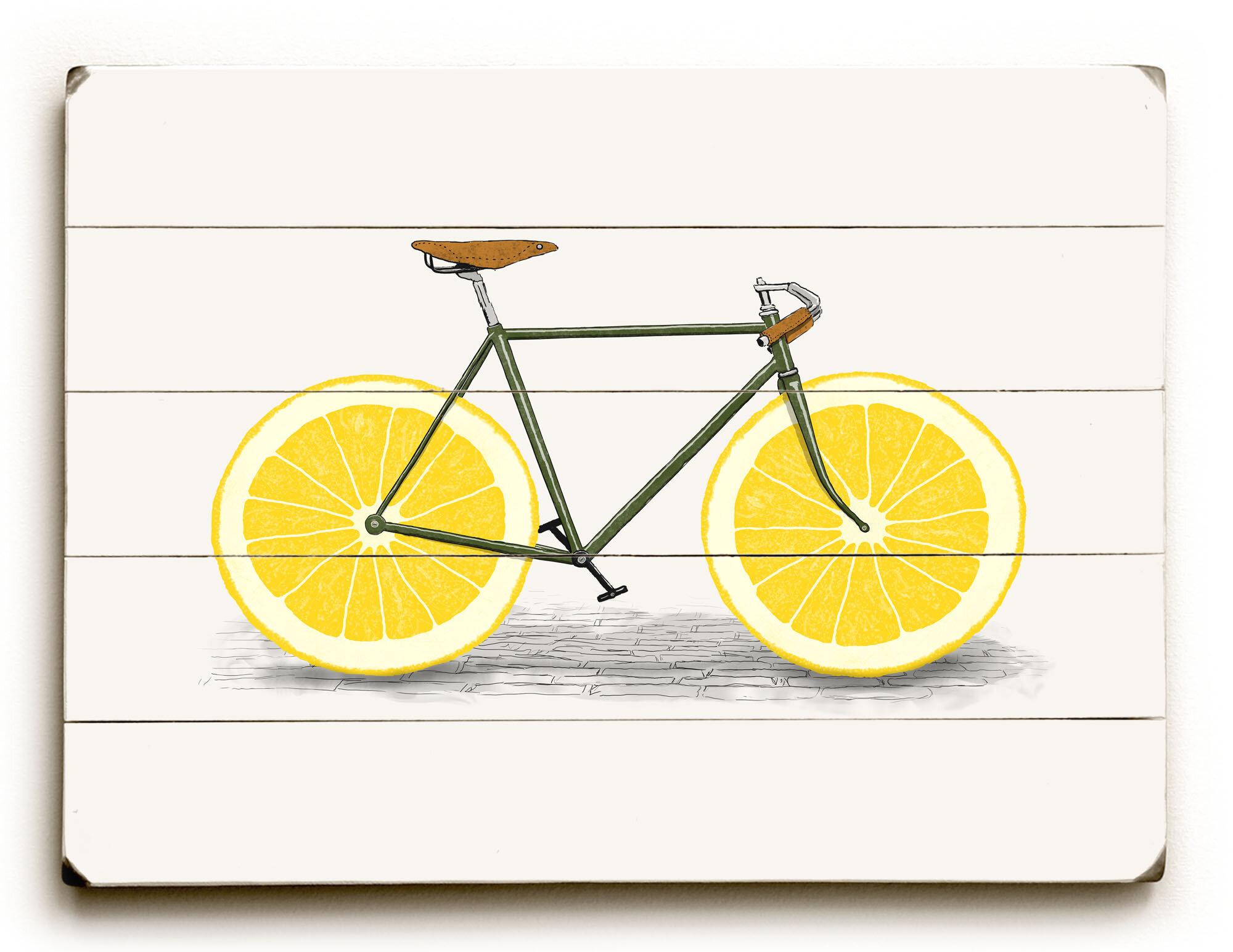 Lemon Zest Wall Art & Reviews   Joss & Main