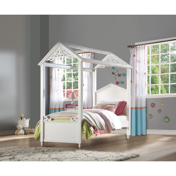 Sarver Twin Panel Bed with Trundle by Harriet Bee