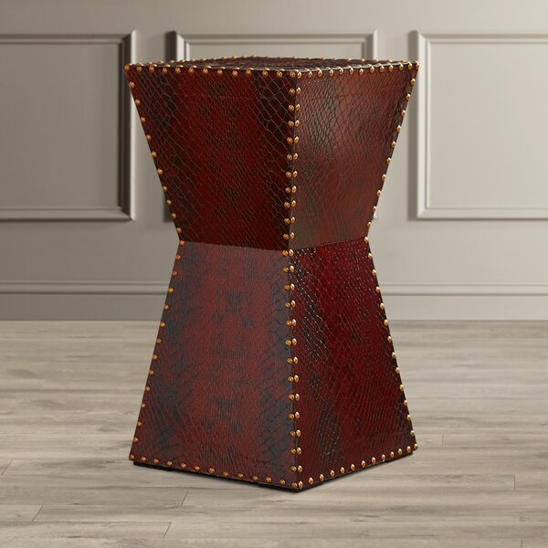 Hasselt End Table by World Menagerie