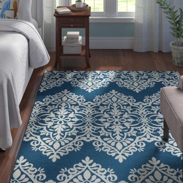 Pearl Blue Indoor/Outdoor Area Rug by Andover Mills