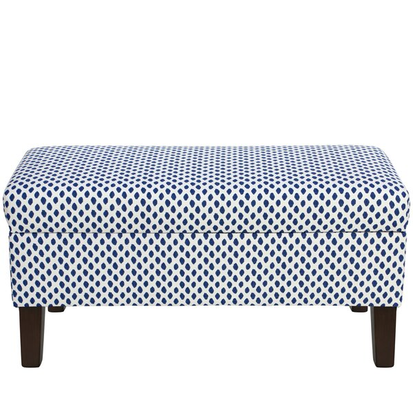 Adelyn Cotton Upholstered Storage Bench by Modern Rustic Interiors