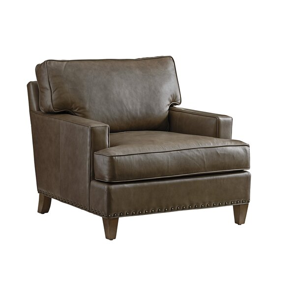 Cypress Point Leather Armchair by Tommy Bahama Home