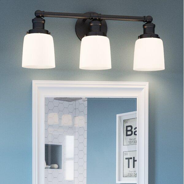 Guyette 3-Light Vanity Light by Breakwater Bay