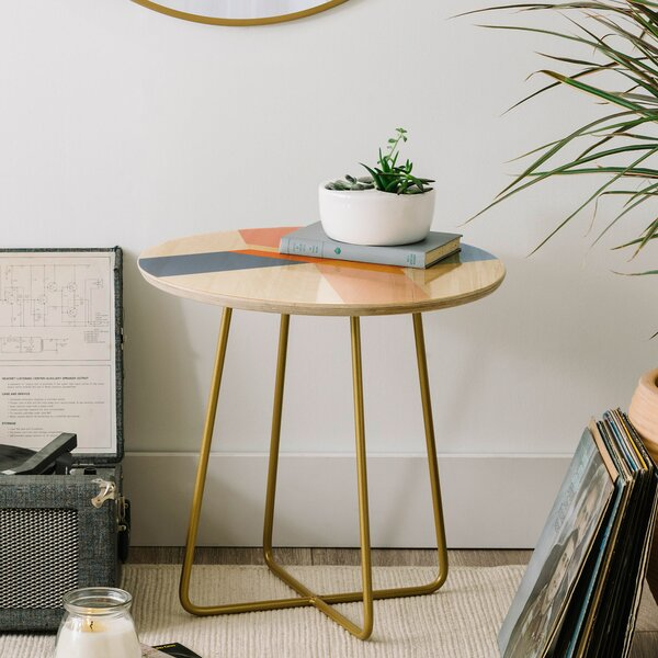 Iveta Abolina Noemie III End Table by East Urban Home