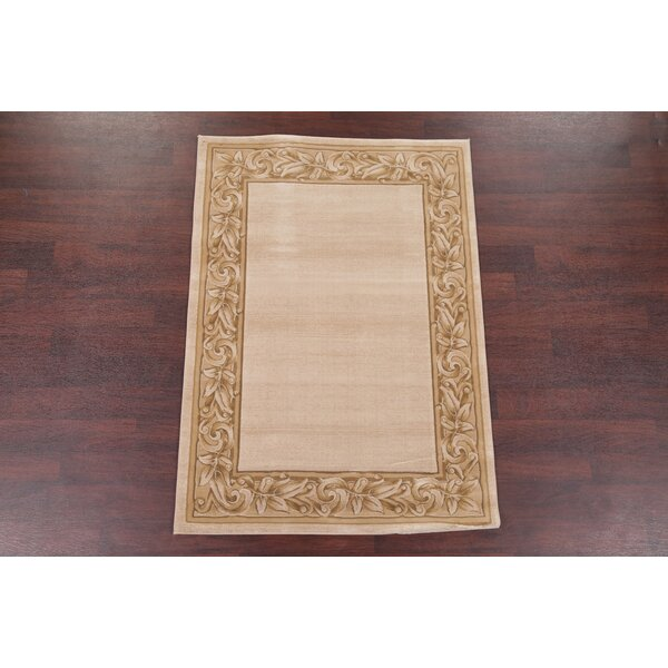 Roselyn Beige/Ivory Area Rug by Astoria Grand