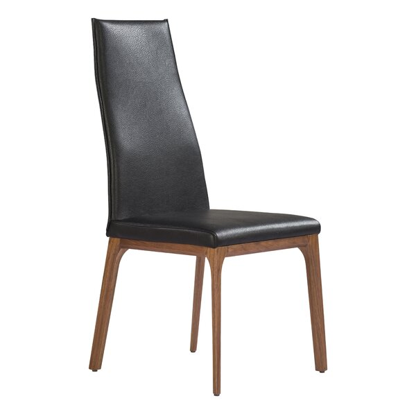 Bayerl Upholstered Side Chair in Brown (Set of 2) by Orren Ellis Orren Ellis