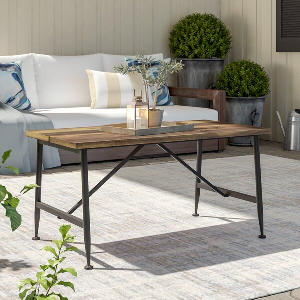 Cabarley Solid Wood Coffee Table by Gracie Oaks
