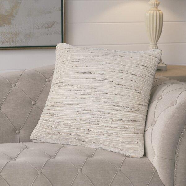 Bartlett Textured Throw Pillow by Eider & Ivory