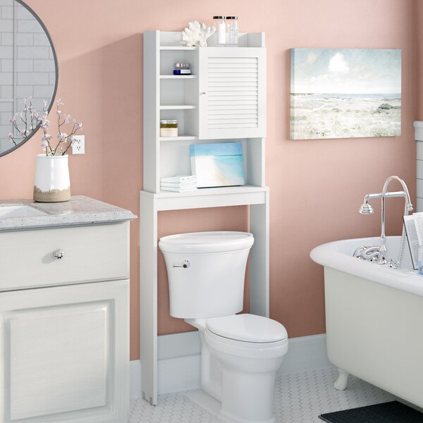 Nemeth 24 W x 67 H Over the Toilet Storage by Beachcrest Home
