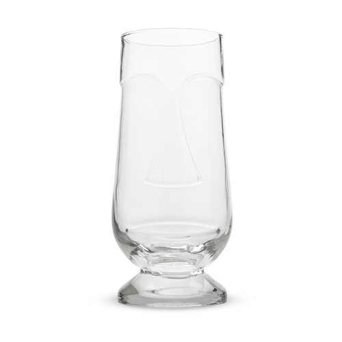 Isle Tiki 18 oz. Glass Pint Glass by True Brands
