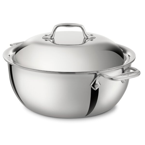 D3 5.5-qt. Round Dutch Oven by All-Clad