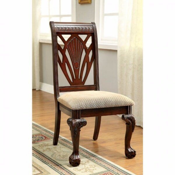 Barryknoll Traditional Upholstered Dining Chair (Set of 2) by Astoria Grand