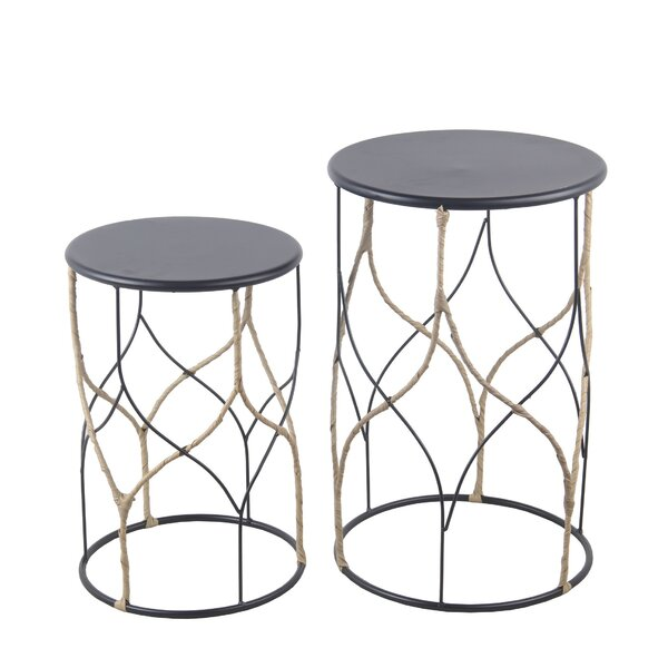 Summers Drum Nesting Tables By Wrought Studio