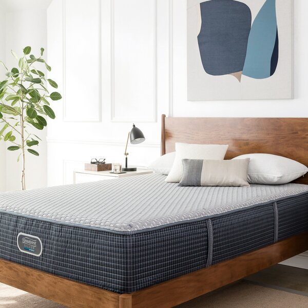 Beautyrest Silver 13 Firm Hybrid Mattress and Box Spring by Simmons Beautyrest