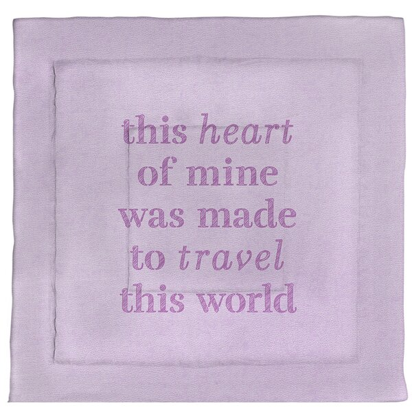 Travel Love Single Reversible Comforter