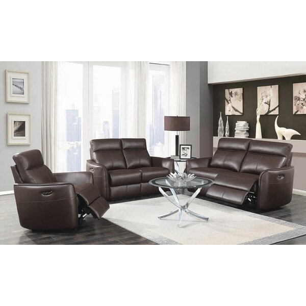 Tremblay 3 Piece Reclining Living Room Set by Orren Ellis