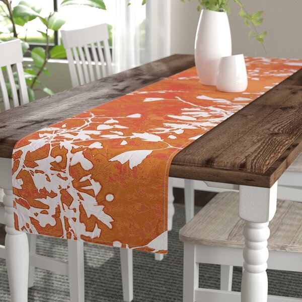 Iris Lehnhardt Twigs Silhouette Table Runner by East Urban Home