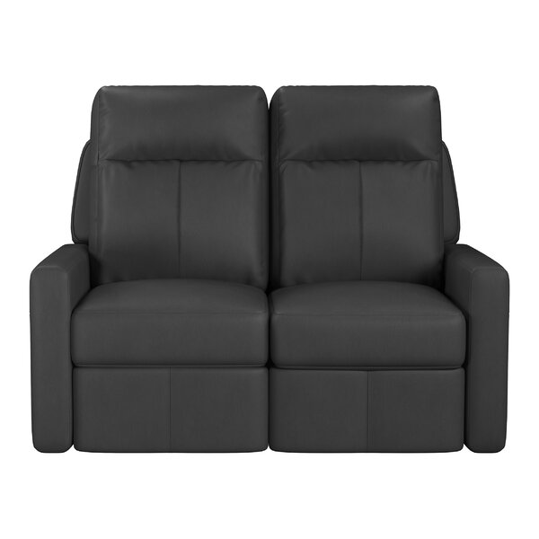Cody Leather Reclining Loveseat By Westland And Birch