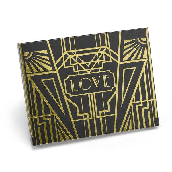 Art Deco Guest Book by Hortense B Hewitt
