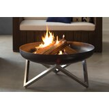 Faisal Stainless Steel Wood Burning Fire Pit