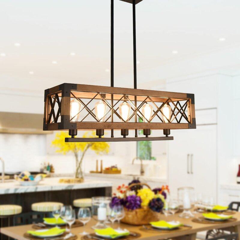 Williston Forge Pateros 5 Light Kitchen