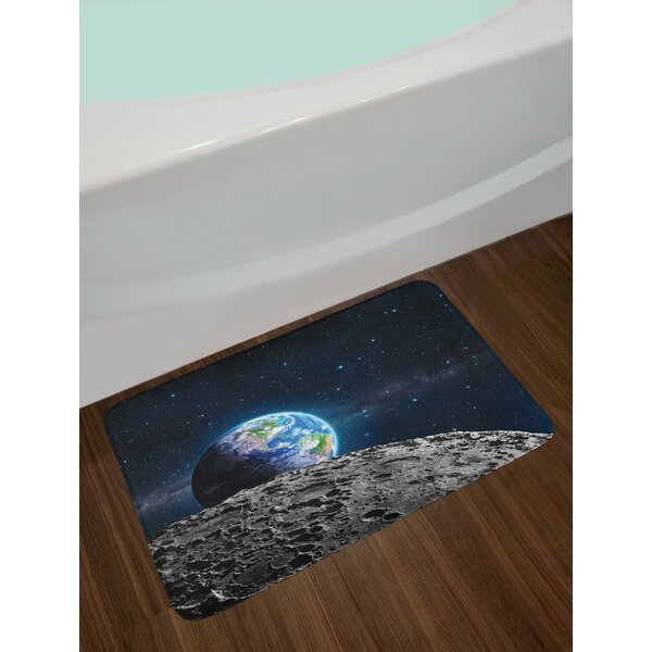 Galaxy View of Bath Rug by East Urban Home