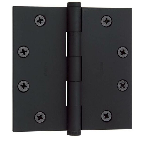 4.5 H x 4.5 W Butt Bearing Single Door Hinge by Ba