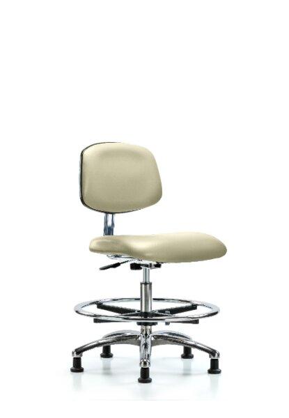 Yareli Medium Bench Ergonomic Office Chair by Symple Stuff