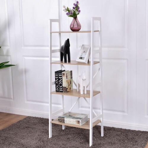 Cahill 4 Tier Ladder Storage Eatgere by Wrought Studio