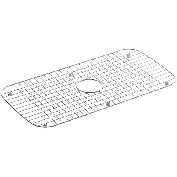 Undertone Stainless Steel Sink Rack, 13-3/4 x 27-1/2 for Undertone and Verse Kitchen Sinks by Kohler