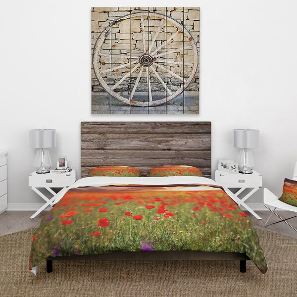 Cabin and Lodge Duvet Cover Set by East Urban Home