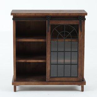Affordable Bogle Classic Design Sliding Door Accent Chest ByCharlton Home