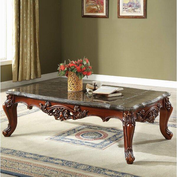 Astoria Grand Marble Granite Top Coffee Tables