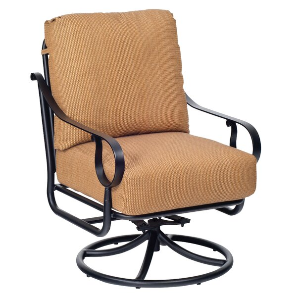 Ridgecrest Patio Chair with Cushion by Woodard