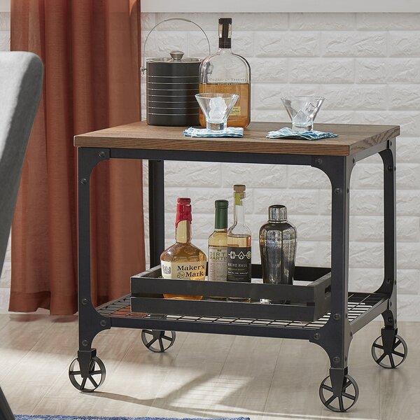Corvus Bar Cart by Mercury Row