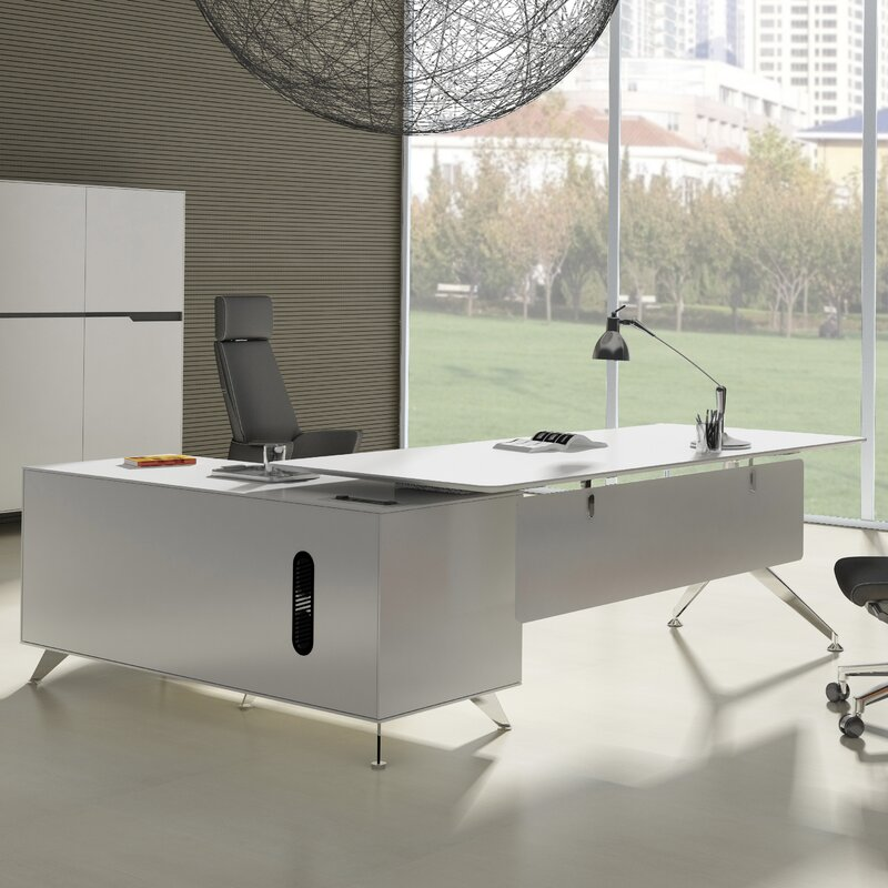 Haaken Furniture Prestige Collection L Shape Executive