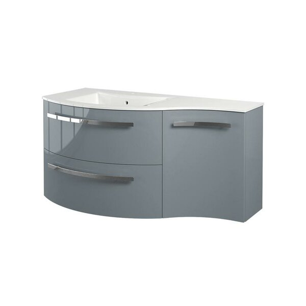 Metson 43 Wall-Mounted Single Bathroom Vanity Set by Orren Ellis