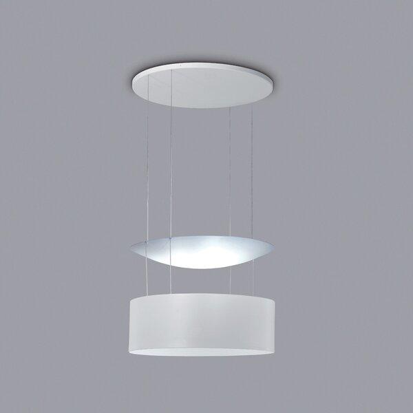 Eclisse 6-Light LED Unique / Statement Drum Chandelier by ZANEEN design ZANEEN design