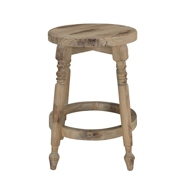 Pablo Wooden Bar & Counter Stool by Rosecliff Heights