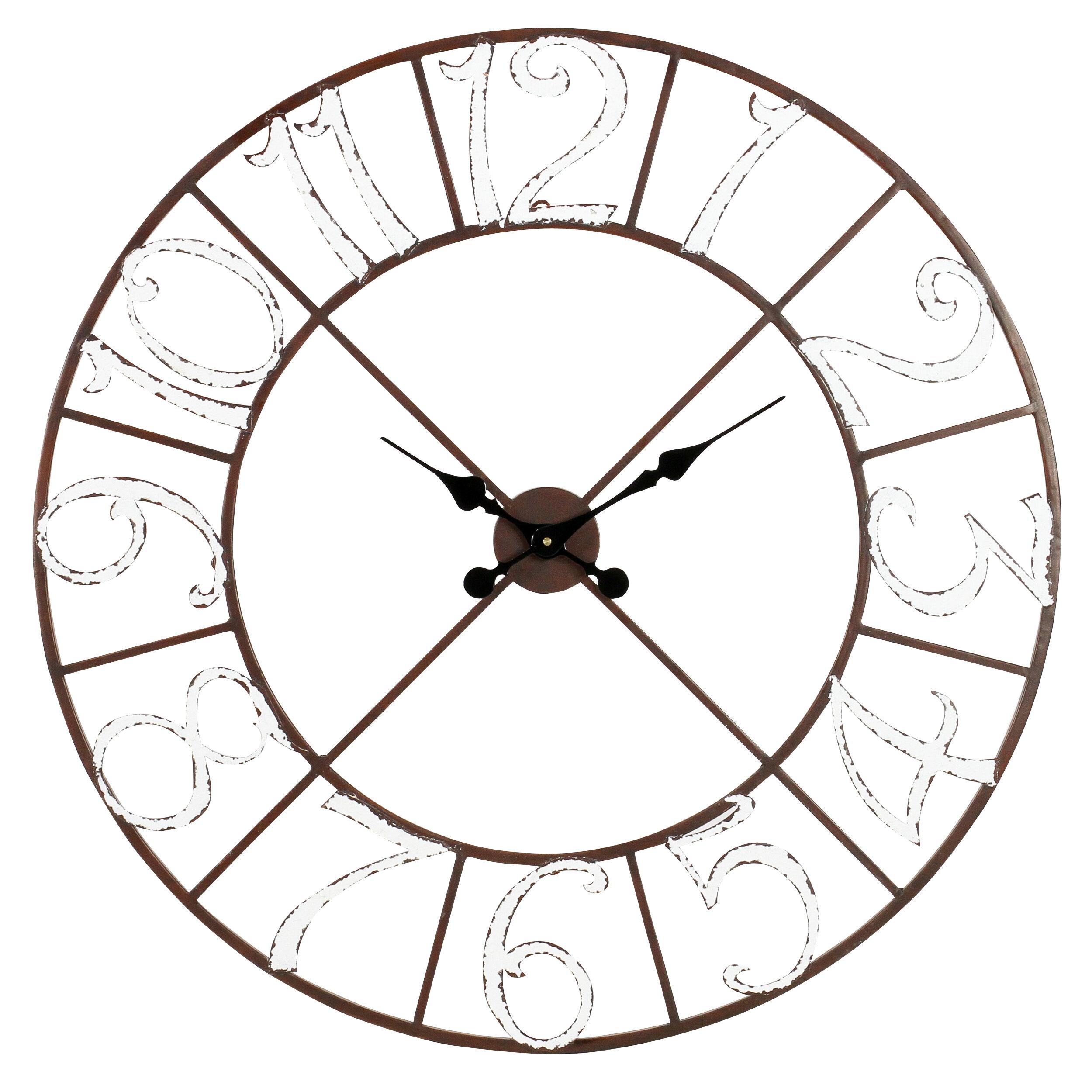Ophelia Co Wall Clocks You Ll Love In 2021 Wayfair